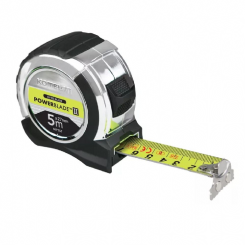 Komelon PowerBlade™ II Pocket Tape Measure Metric Only 5m (Width 27mm)